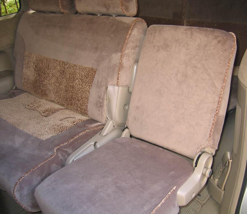 Чехлы из экокожи на автомобильные сиденья Пошив
