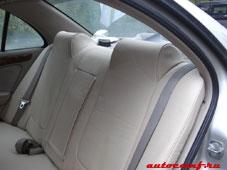 Авточехлы для задних сидений Ниссан Блюберд Силфи (Nissan Bluebird Sylphy)