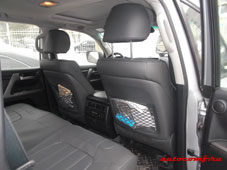 Чехлы Toyota Land Cruiser 200 (второй ряд с подлокотником)