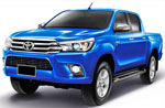 Авточехлы для Toyota Hilux Pick Up VII с июля 2015